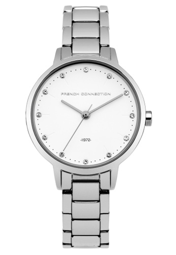 French Connection silver French Connection  Women's Bracelet watch FC1281SM Baker Petite Classic FR853AC43FKISG_1