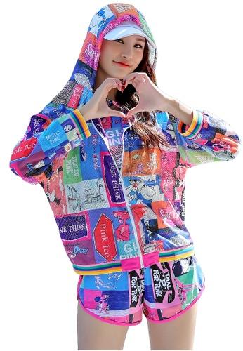YG Fitness multi (3PCS) Fashion Sports Swimsuit Set 60D5CUS46DE5C8GS_1