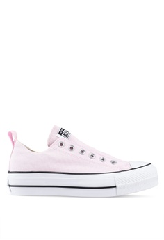 91250546ab Converse pink Chuck Taylor All Star Lift True Faves Ox Sneakers  5BEAFSHC5B49EAGS 1