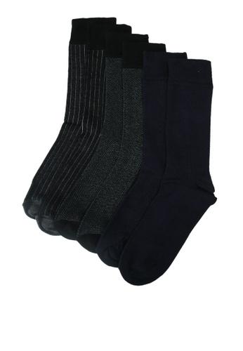506ea403ddd Buy Burton Menswear London Smart Herringbone 3 Pack Socks Online on ZALORA  Singapore