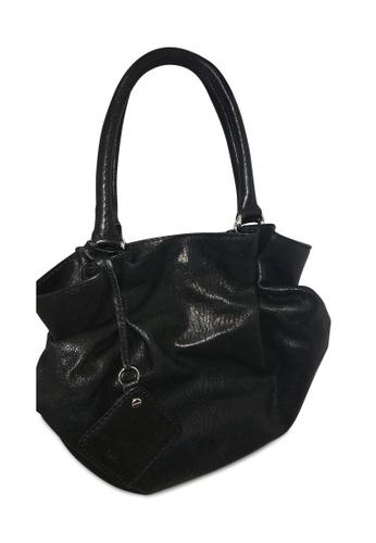 DOLCE & GABBANA black Pre-Loved dolce & gabbana Black Hobo Bag 280D8AC3E09B08GS_1