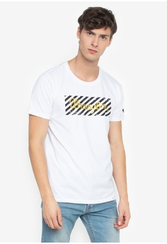 90b3b5de8cf6 Wrangler white Round Neck Lycra Cotton T-Shirt DED10AAC7B9889GS 1