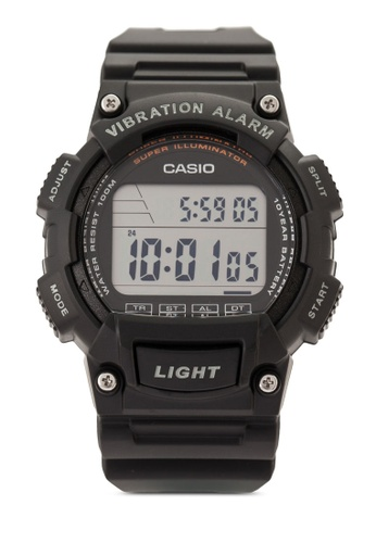 Casio black Casio Youth Digital Black Dial Men's Watch CA843AC22VJDMY_1