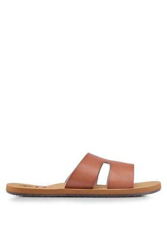 Billabong brown Wander Often Sandals BI783SH0SZBUMY_1