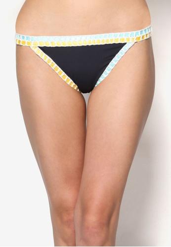 Cotton On Body black Trimmed Brazilian Bikini Bottom CO561US54WSNMY_1