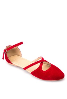 Myrtle Pointed Toe Foldable Flats