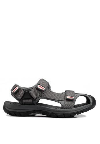 Power grey After Sport Sandals 324E1SH99E71FAGS_1