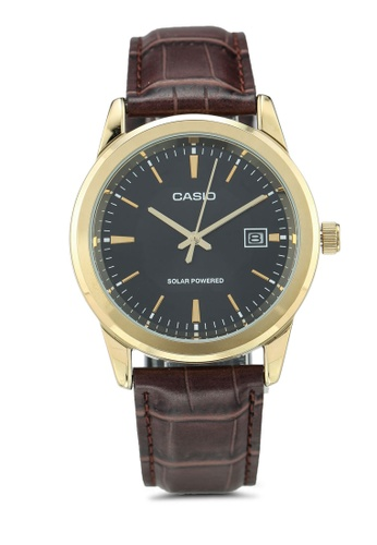 Casio brown Casio Watch MTP-VS01GL-1ADF 8D58EACF5A59ABGS_1