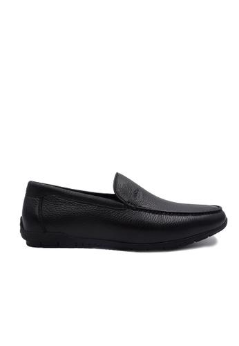 Goldlion black Goldlion Premium Loafer Shoes in Black (HSH213DR92B-99) 40B2DSH6C20D90GS_1