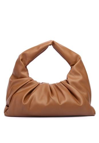 Milliot & Co. brown Charlotte Shoulder Bag 913D2AC3FC270EGS_1