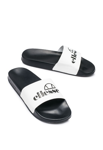 Ellesse 黑色 and 白色 Filippo Synthetic Sliders 2C3CDSH87BCC03GS_1