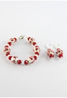 Hand Painted Ceramics Bracelet