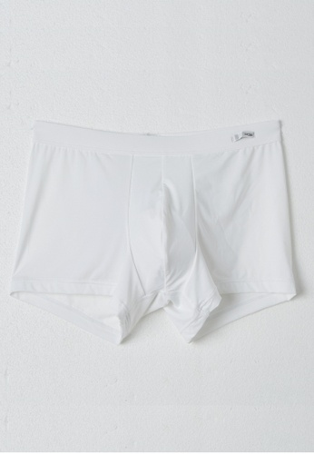 HOM white Comfort Boxers Briefs - White 50041US28A2EA1GS_1