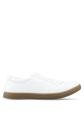 Bata white White Laced Up Sneakers BC310SH48EF140GS_1
