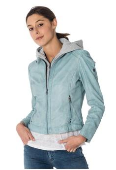 20% OFF Gipsy Angel leathert jacket with hood HK  5 4d176b356