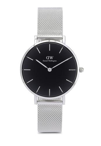 bdab6d2ee8221 Daniel Wellington silver Classic Petite Sterling Watch 32MM DA376AC21HJQMY 1