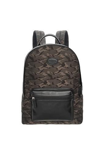 SEMBONIA green Men Age Of Edge Duo-Panel Backpack B3624AC67EB0FEGS_1