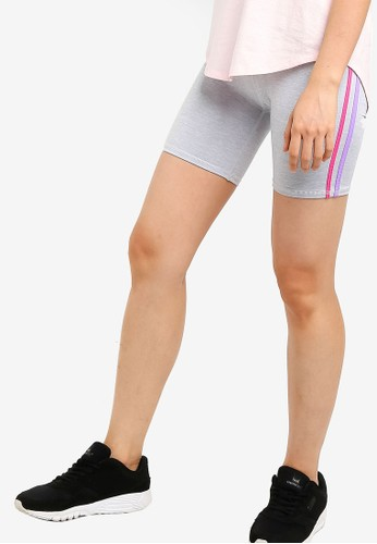 Cotton On Body grey Highwaisted Bike Shorts 67A06AA8E4D52CGS_1