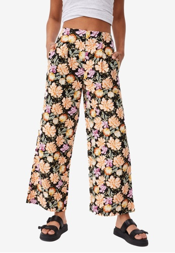 Cotton On black Wide Leg Paradise Pants 10B6FAAAE0C21DGS_1
