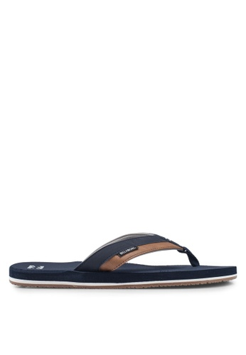 Billabong navy All Day Impact Sandals 20108SHAD1F5FFGS_1