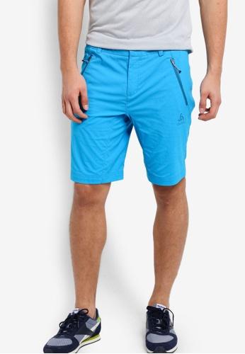 Odlo blue Spoor Shorts OD608AA16KBBMY_1