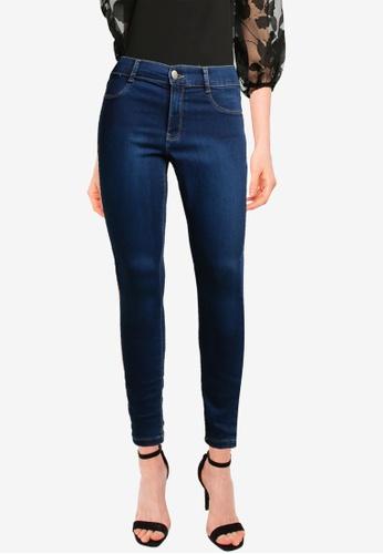 Dorothy Perkins blue Indigo Frankies Jeans 0BB5AAABCF54DFGS_1
