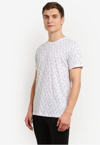 !Solid white Jaxen Graphic T-Shirt SO701AA0RU6YMY_1