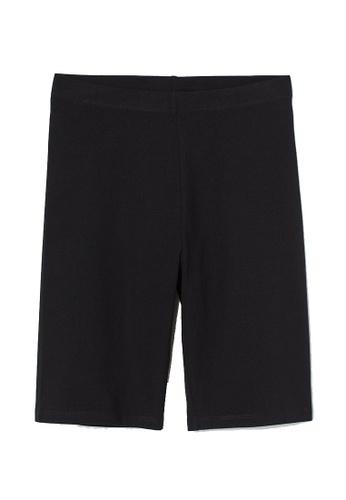 H&M black Cycling Shorts BDB92AA3993980GS_1