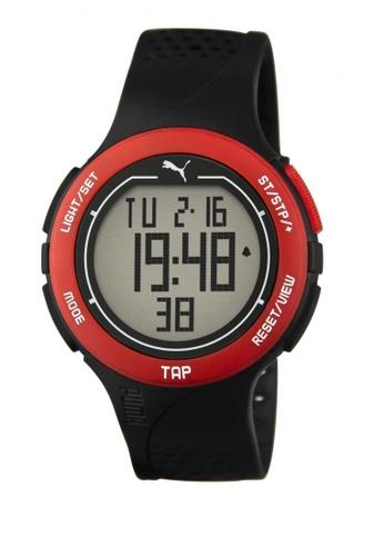 Puma black and orange Puma Touch Orange/Black Digital Touch-Screen Watch PU440AC18CUJSG_1