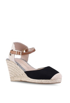9236b786562 Dorothy Perkins Black Raya Espadrilles Wedges RM 159.00. Sizes 3 4 5 6 7