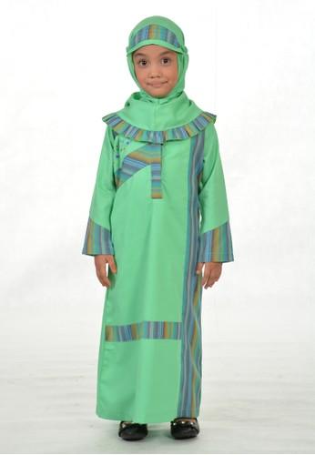 Arafah green Gamis Anak Namira FBEA2KA64B0E0EGS_1