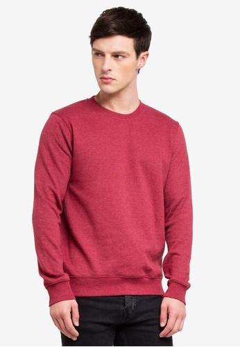 Burton Menswear London 紅色 混色毛衣 A1C79AA070B189GS_1