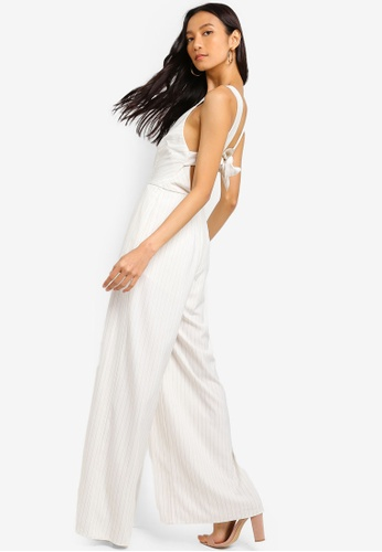 Finders Keepers white Flamenco Jumpsuit FB8F3AA8B74EE3GS_1