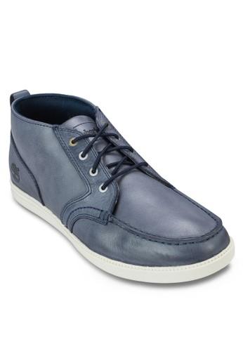 Fulk 皮esprit 台中革繫帶踝靴, 鞋, 鞋
