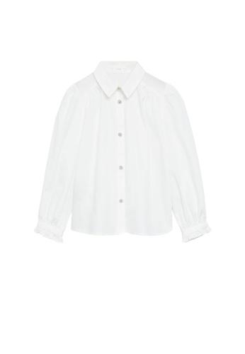 MANGO KIDS white Jewel Buttons Shirt D8F2FKA0FD9514GS_1