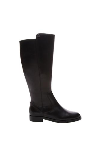SCHUTZ black SCHUTZ Leather Long Boots - JOAN (PRETO) B23D5SH21D2A00GS_1