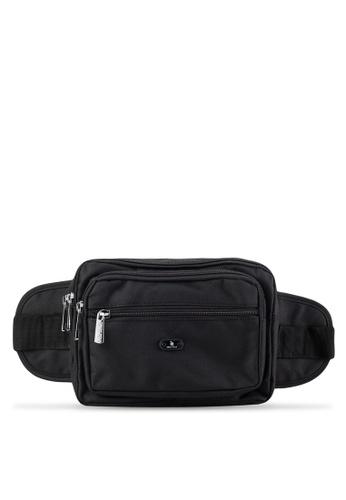 Swiss Polo black Swiss Polo Waist Bag SW912AC78DRHMY_1