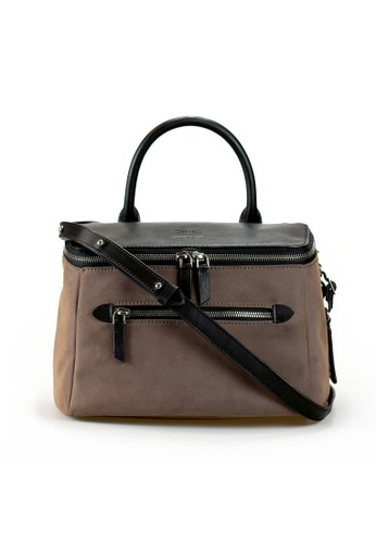 Gnome and Bow brown D'ryna Handbag 5AA62ACD9FA1C7GS_1