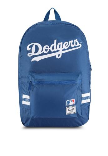 Herschel blue Los Angeles Dodgers Packable Daypack Backpack CC742ACFC46D9EGS_1