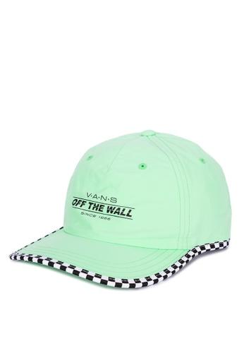 Vans green Check It Twice Hat 59A7EAC5B26B6BGS_1