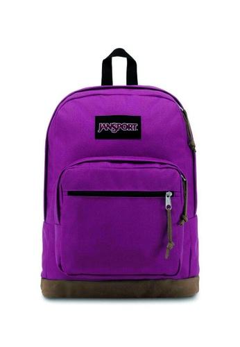 Jansport purple Jansport Right Pack Magenta Haze Backpack - 31L B996BACB8E7433GS_1