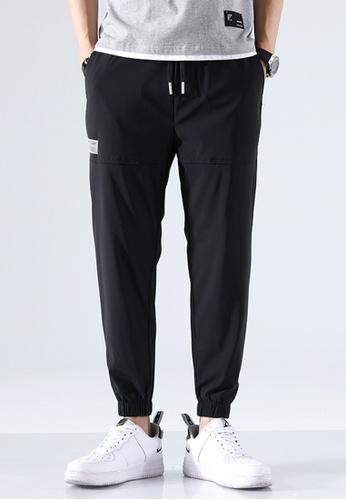 Trendyshop black Casual Jogger Pants 233AFAACFFF0F1GS_1