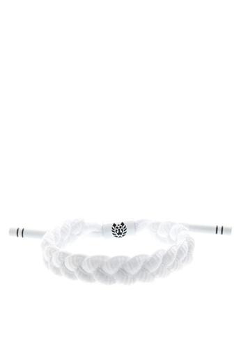 Rastaclat white Shoelace Bracelet: Level 1 RA072AC0ISE3PH_1