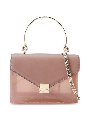 ALDO beige Peaclya Top-Handle Bag F2E97ACBB7CBE3GS_1