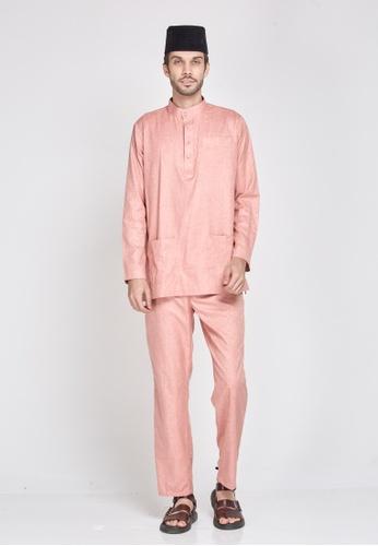 MOTHER & CHILD pink Baju Melayu Sultan Exclusive C1102AAA5B8619GS_1
