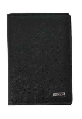 Valentino Rudy black Valentino Rudy Saffiano Leather Passport Holder VA677AC66TGFSG_1