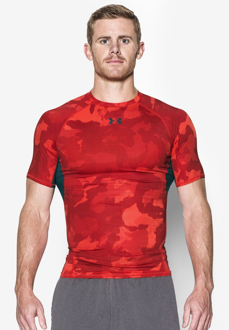 Armour HG Printed Short Sleeves Top