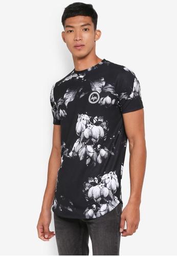 Just Hype black Fall Mist T-Shirt 51C2CAADD8C374GS_1