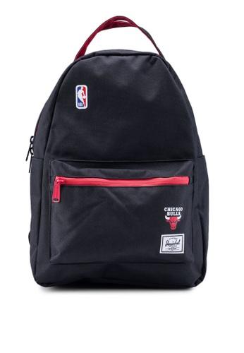 Herschel black Nova Mid Volume Backpack (Chicago Bulls) 0C98BACC57C73CGS_1