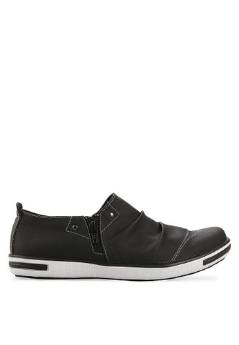 CATCHEER black Clayton Slip On CA976SH59YJKID_1